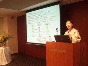 第二部は大久保恭子氏 身近なテーマに受講者の関心は高い