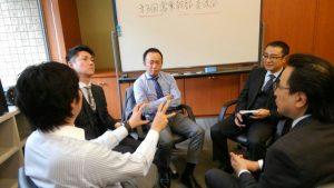 「理想と現実をどう埋めるか」湧くグループ討議