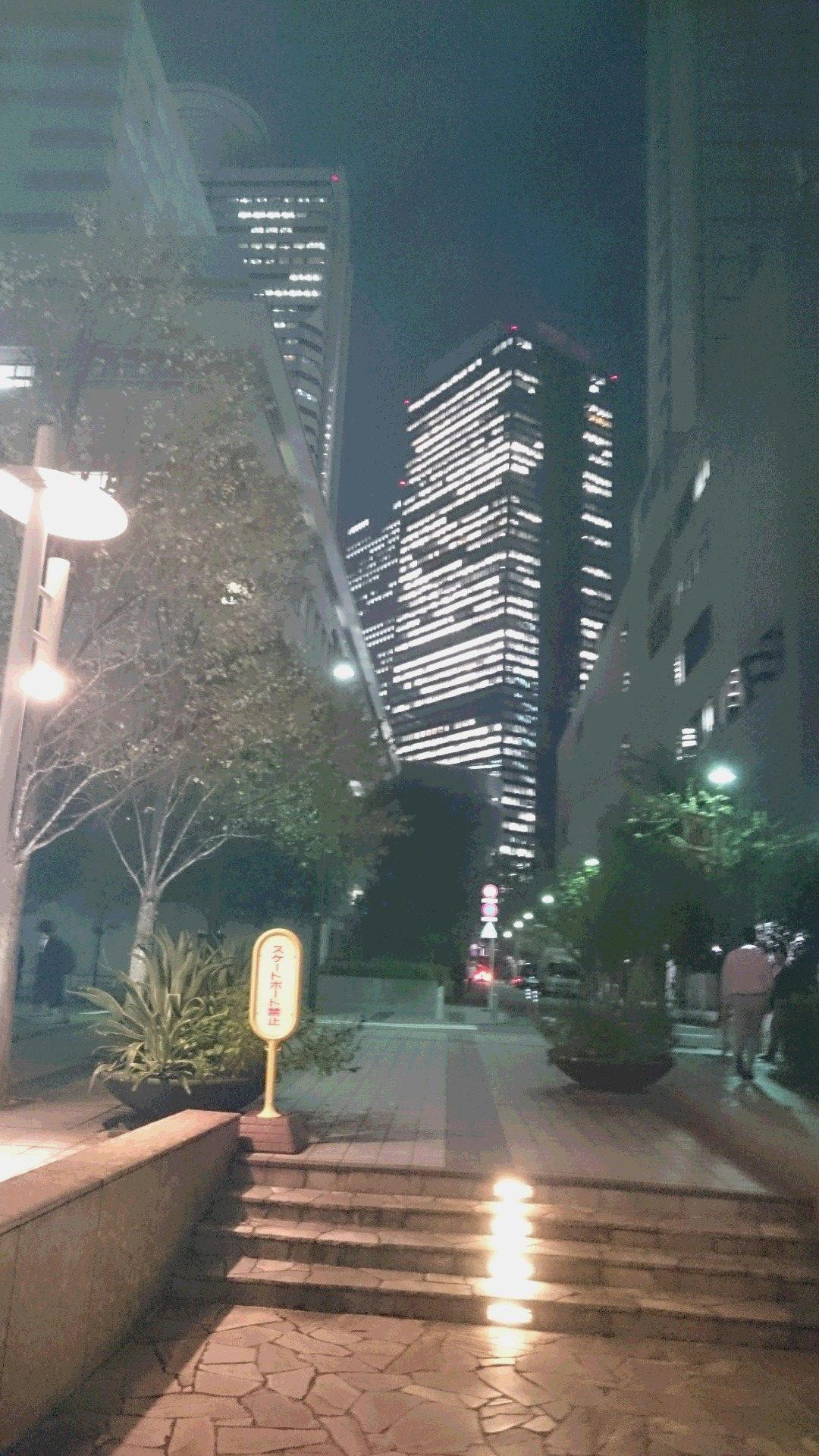 クリニック会場近くの夜景